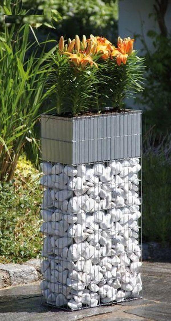 Gasim aici 15 idei de amenajari cu decoratiuni pentru gradina tip gabioane
