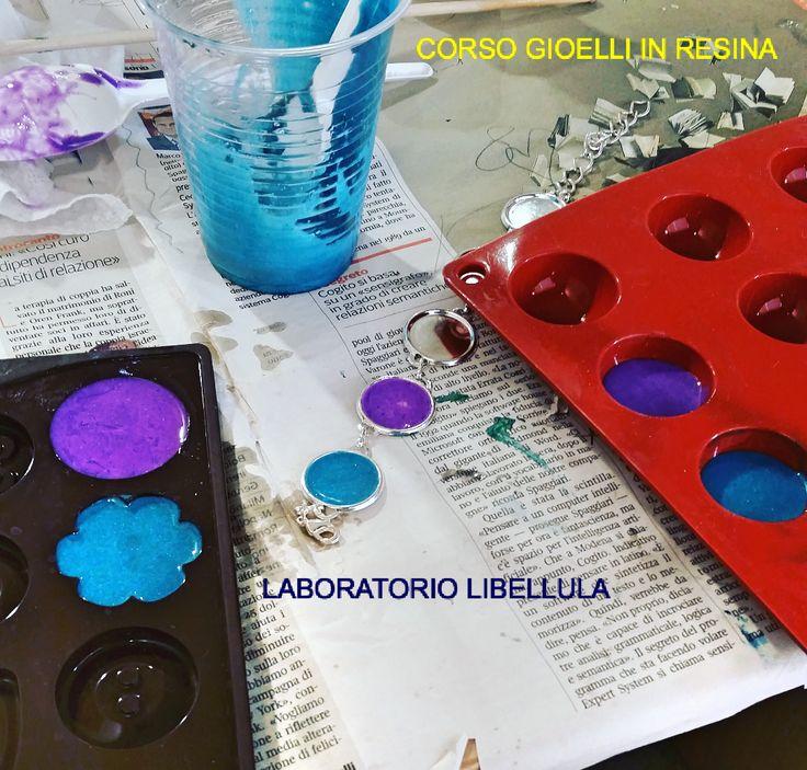 Corso Gioielli in Resina - Laboratorio Libellula