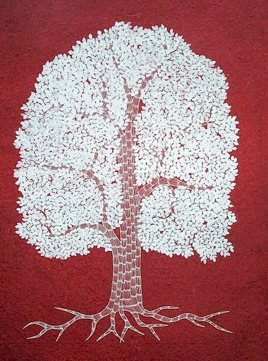 tree of life by Japani Shyam daughter of Jangarh Singh SHyam.