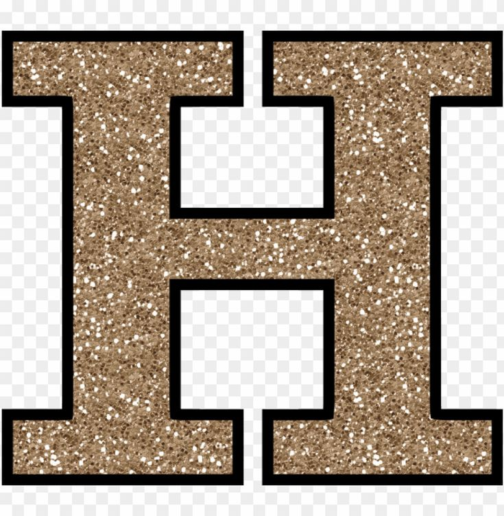 Gold Glitter Letter H Png Image With Transparent Background Png Free Png Images Gold Glitter Background Glitter Letters Free Png