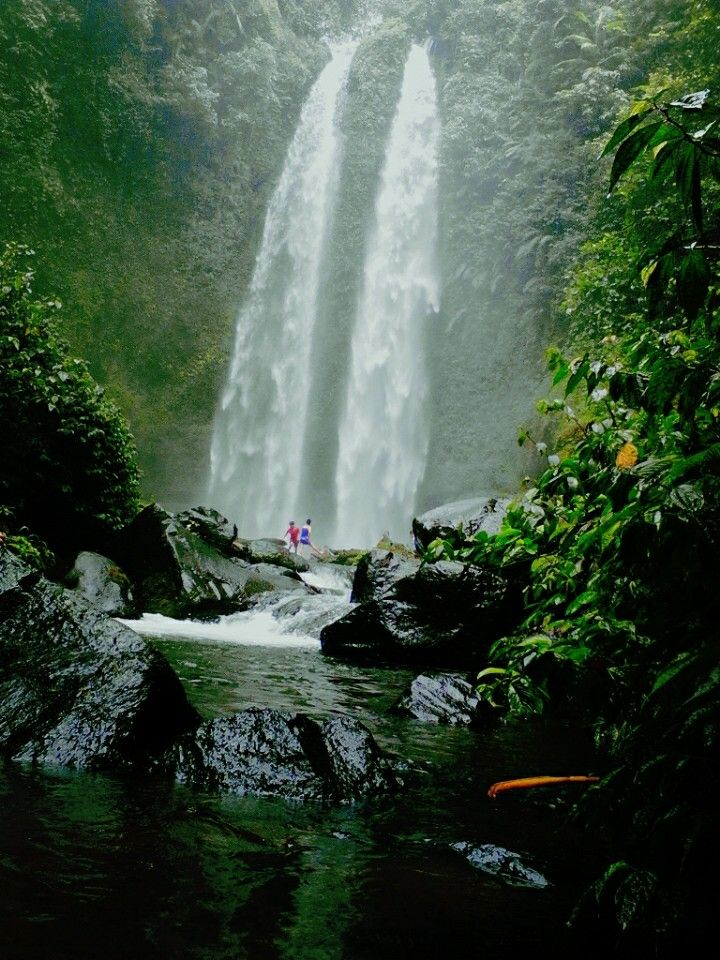 Tiu Teja Waterfall, Santong, Lombok
