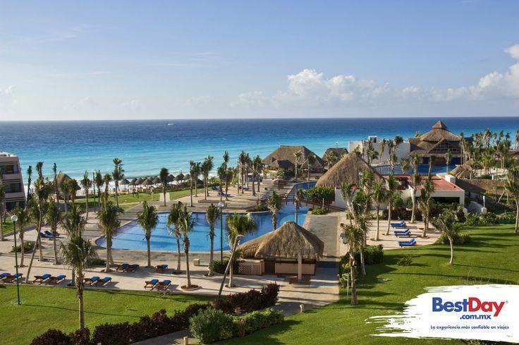 Un completo programa Todo Incluido, es lo que Oasis Cancun ha preparado especialmente para ti. Denominado The Entertainment Resort, es una propiedad ubicada en la zona hotelera de #Cancun frente al mar, en un área de 28 hectáreas de jardines. Aquí, te espera una amplia zona de 650m de playa, así como una enorme piscina de 300m. Durante tu estancia, serás sorprendido por los originales shows, que durante el día y la noche, ponen un toque especial de diversión. #BestDay #OjalaEstuvierasAqui