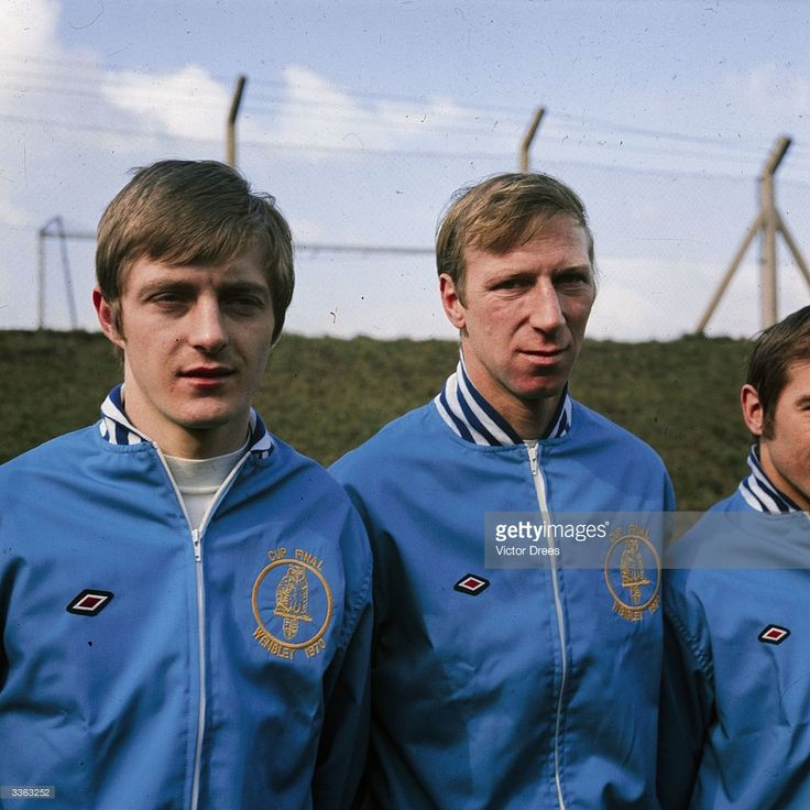 Allan Clarke and Jack Charlton in the Leeds United team lineup News Photo | Getty Images