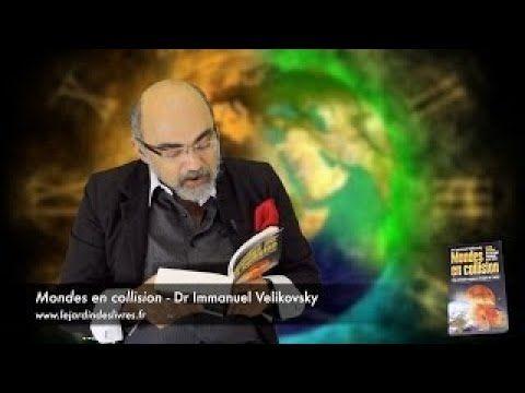 """Présentation du livre du Dr. Immanuel Velikovsky """"Mondes en collision"""" par Pierre Jovanovic."""