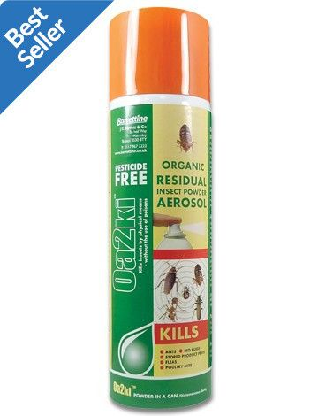 carpet beetle spray. this oa2ki organic powder aerosol spray is one of our best selling crawling \u0026 flying insect carpet beetle