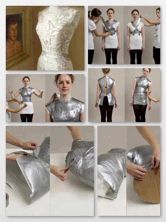 22 best Craft - mannequin images on Pinterest | Dress form, Sewing ...