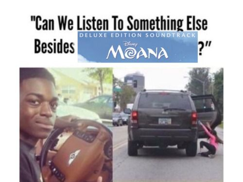 No we have to listen to it ALL THE TIME