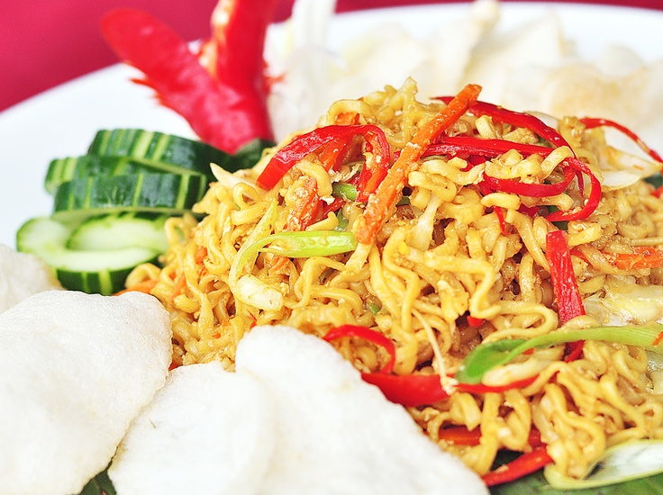 Fried Noodle seafood or chiken