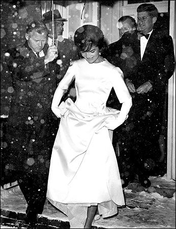 The stunning Jackie-O: John Kennedy, Jackie Kennedy, Ball Gowns, Silk Satin, Style Icons, Oleg Cassini, Jacqueline Kennedy, First Lady, En Route