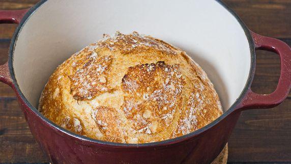 Crusty Bread.