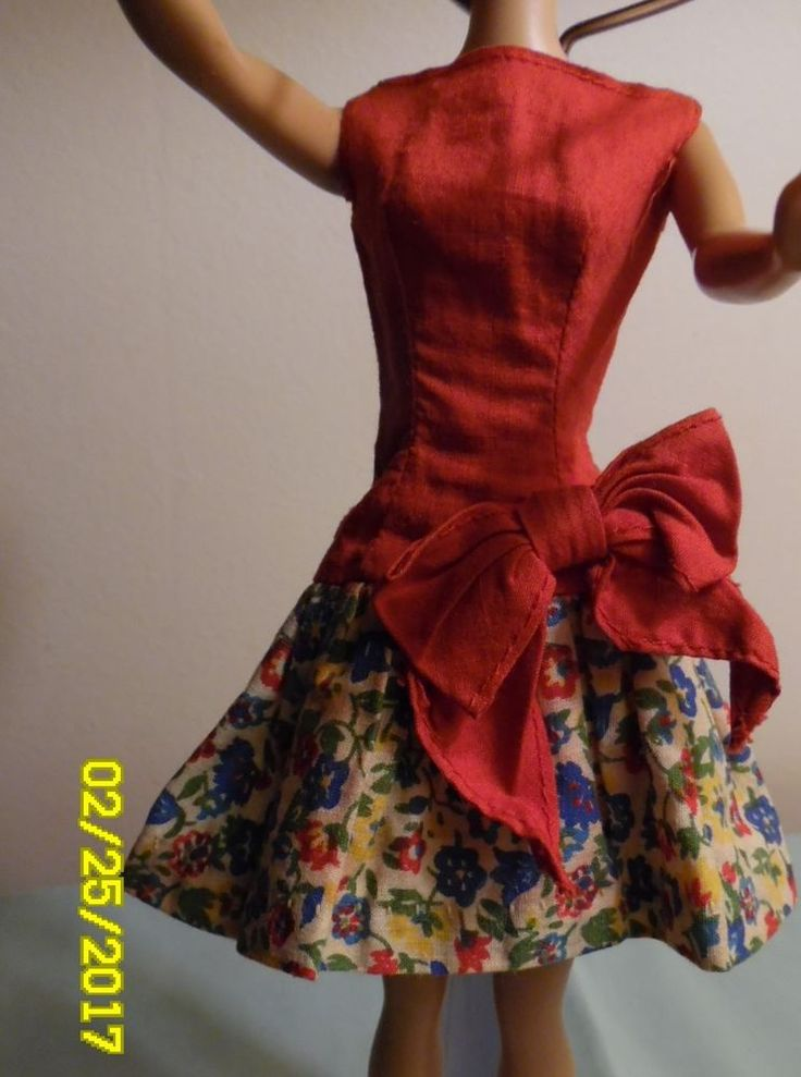 Vintage Barbie Best Bow VHTF with On The Go Fabric. Only Made in 1967