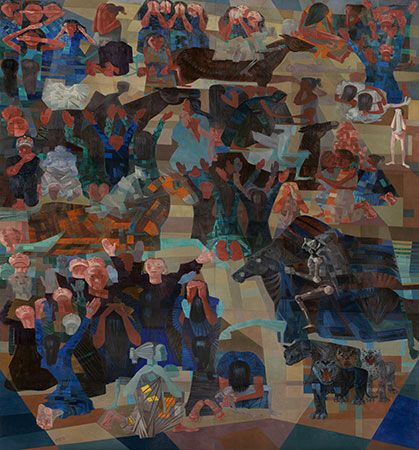 ArtNexus - News     The United Nations building, in New York City, is where we habitually find this major work by the artist renowned as the greatest Brazilian painter in the first half of the Twentieth Century, Cándido Portinari (1903-1962