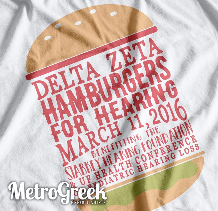 Delta Zeta Philanthropy T-shirt for the University of Florida Chapter.