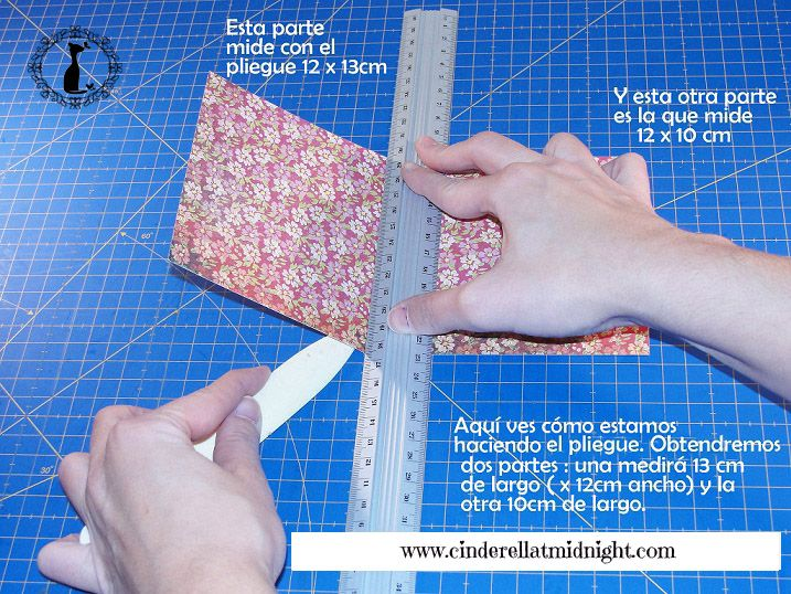 Carpeta con separadores - Tutorial paso a paso Cinderella 4