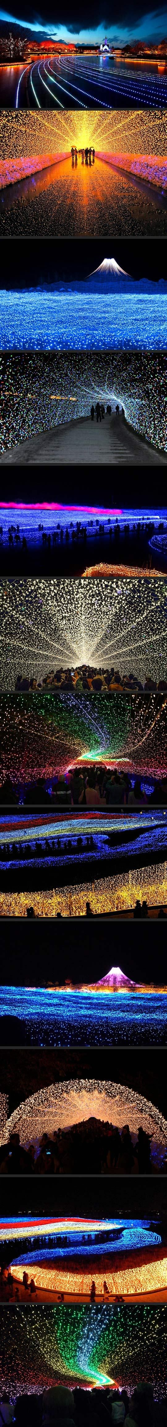 Japan`s Winter Lights Festival