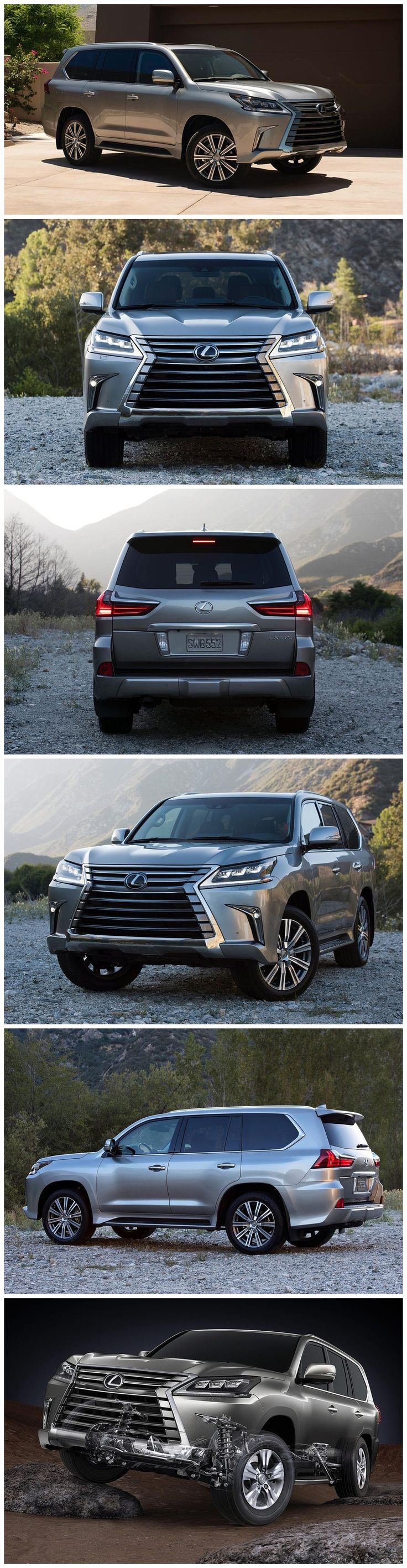 New 2016 Lexus LX 570. Land Cruiser capability, Lexus luxury!