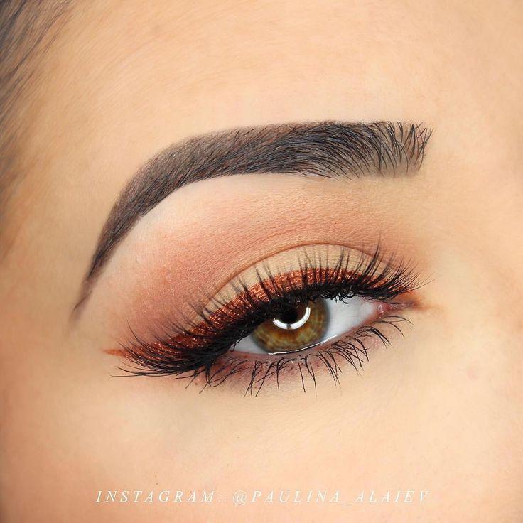 Makeup Geek Eyeshadows in Sidekick and Cabin Fever + Makeup Geek Pigment in Vegas Lights. Look by: paulina_alaiev