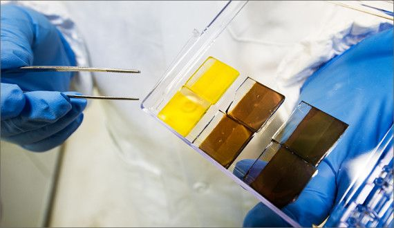 Perovskite solar cells have been getting a lot of attention for their potential to reach new heights of efficiency and new lows of cost... #solar #energy #perovskite #solarcells #photovoltaic #sciene #research #USA #UnitedStates