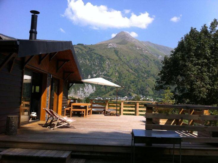 Gère-Bélesten, Chalet de vacances avec 3 chambres pour 7 personnes. Réservez la location 6427430 avec Abritel. Chalet dans les Pyrénées béarnaises