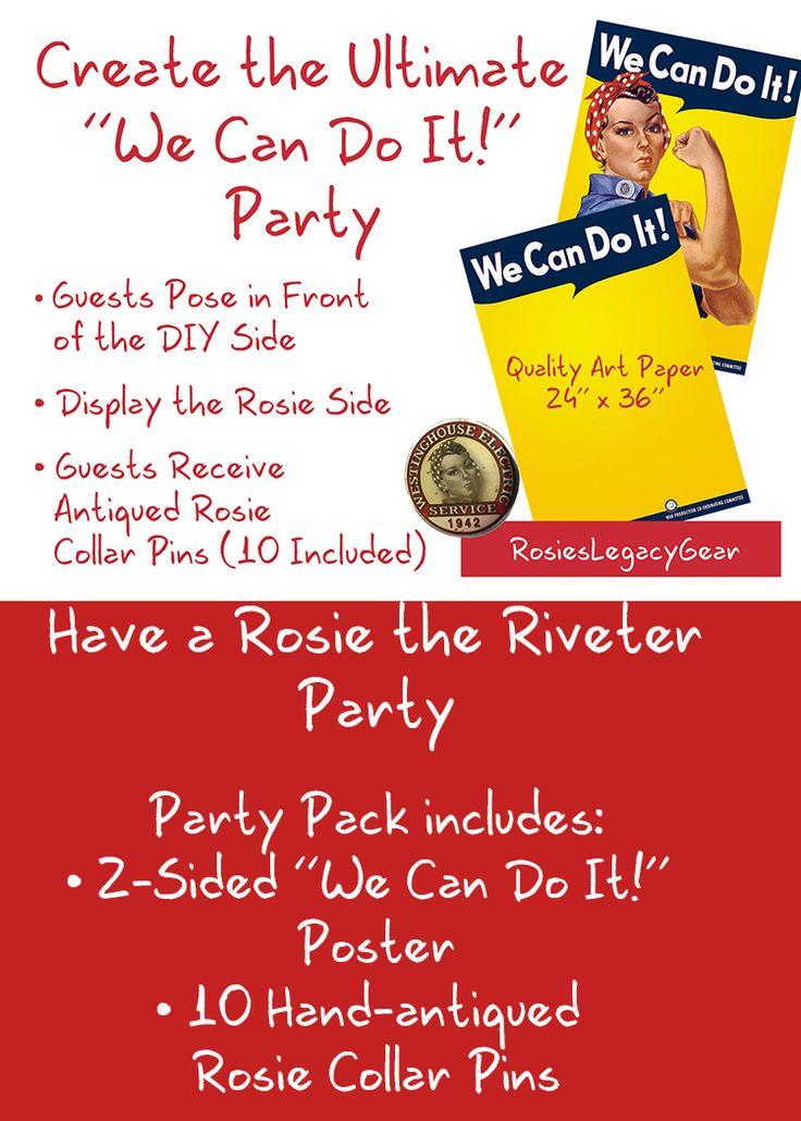 50 Best Rosie The Riveter Fun Images On Pinterest Rosie Riveter