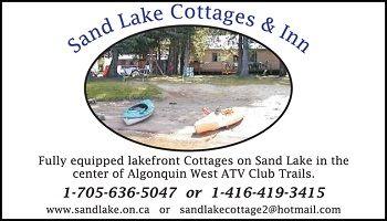 2013_Sand_Lake_cottages_350.jpg http://www.sandlake.on.ca  #ATV #Getaways in #Almaguin  #Cottage #Rentals