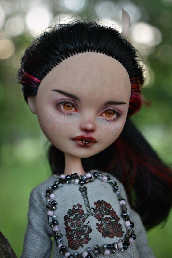 OOAK EAH doll repaint Lizzie Hearts in full custom by RonnikBC