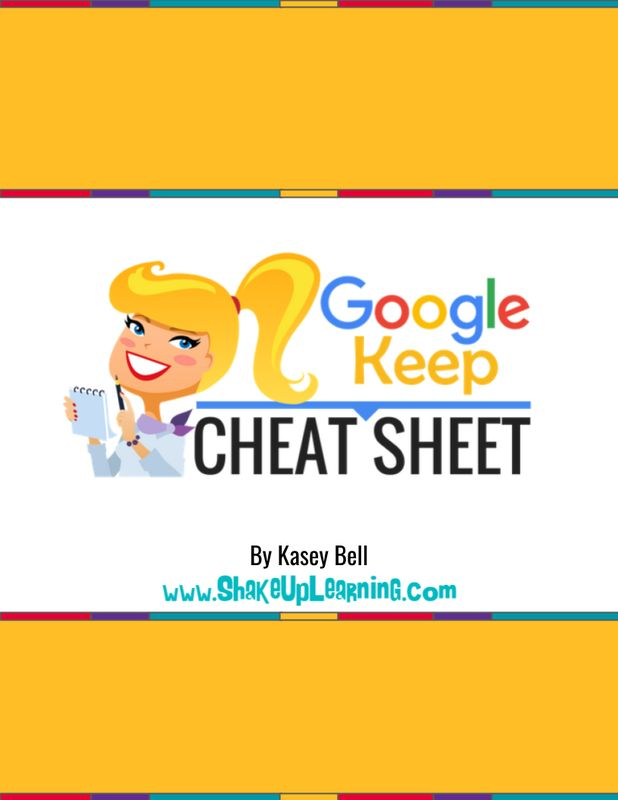 Learn All About Google Keep with this Google Keep Cheat Sheet! Hooray! I have a brand new Google Keep Cheat Sheet for Teachers and Students! Use this cheat sheet to find all of the awesome features of this amazing digital tool. (Now, say it three times fast: Google Keep Cheat Sheet!) What is Google Keep? …