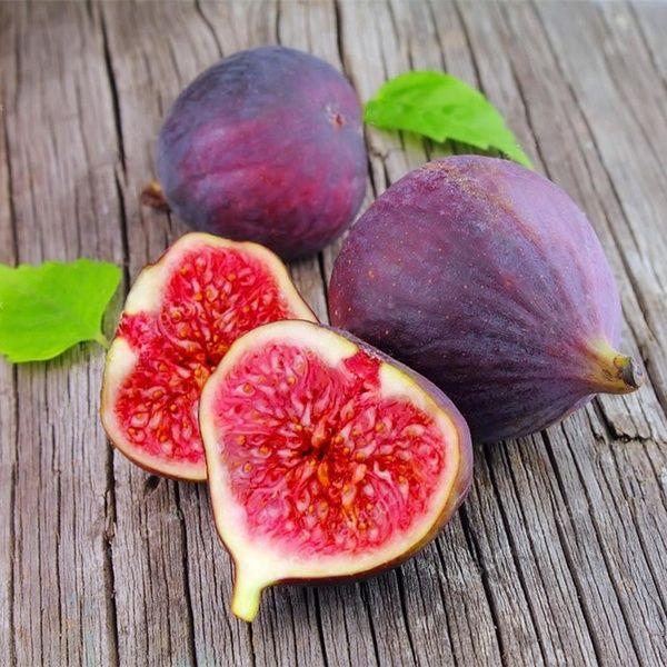 50pcs Fig Tropical Seeds Ficus Carica Seeds Bonsai Rare Fruit Seed Home Planting Wish Potassium Rich Foods High Potassium Foods Vitamin Rich Foods