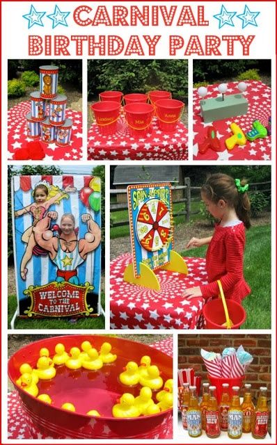 Carnival / Circus Themed Birthday Party