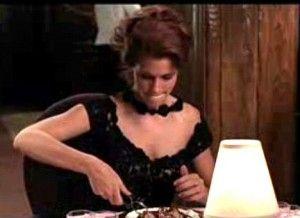 Pretty woman Julia roberts escargot eating