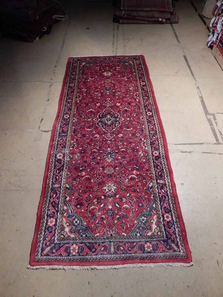 Original 4' x 11' Persian Rug Clearance SALE Hand Knotted Runner KASHAN-IRAN