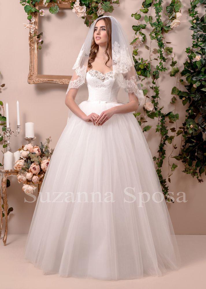 Betsy - Nava Bride #weddingdress #dress #bride #navabride #bridalgowns #necollection #susanasposa