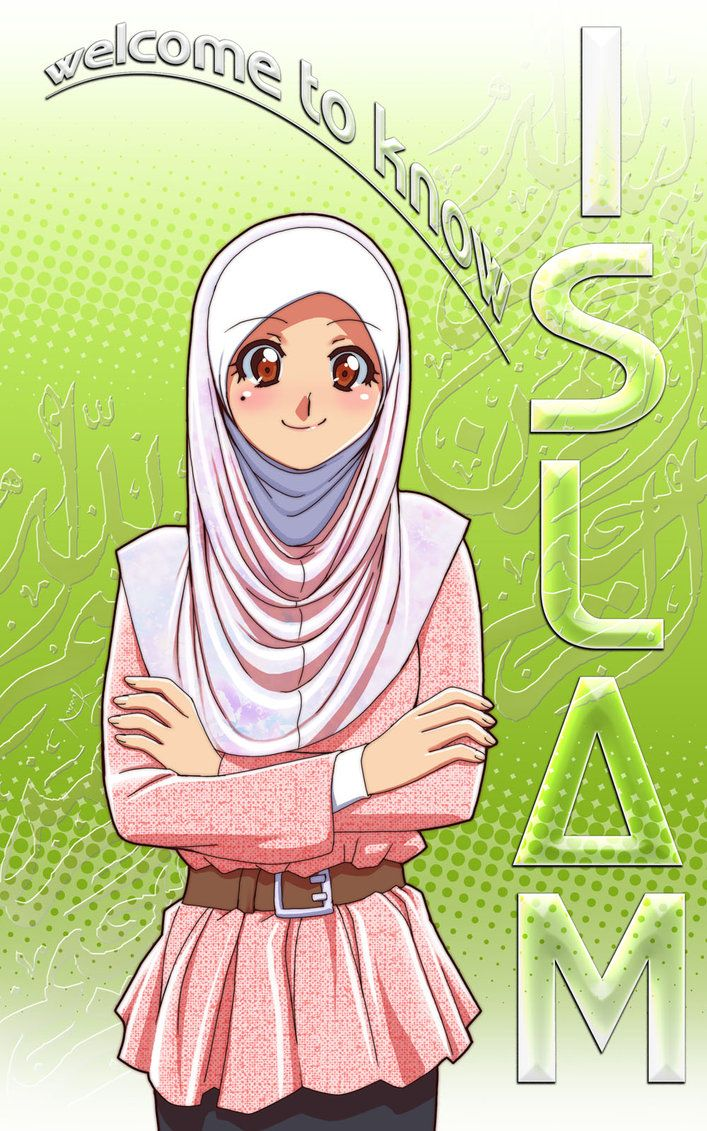 Life As We Know It Muslimah Clothing Fashion Tips: 71 Best Muslimah Anime Images On Pinterest