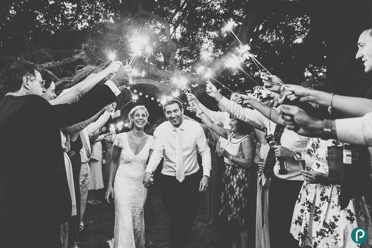 Wedding Sparkler Fun Creative Hampshire Photography At Pylewell Park By Photojournalist Paul