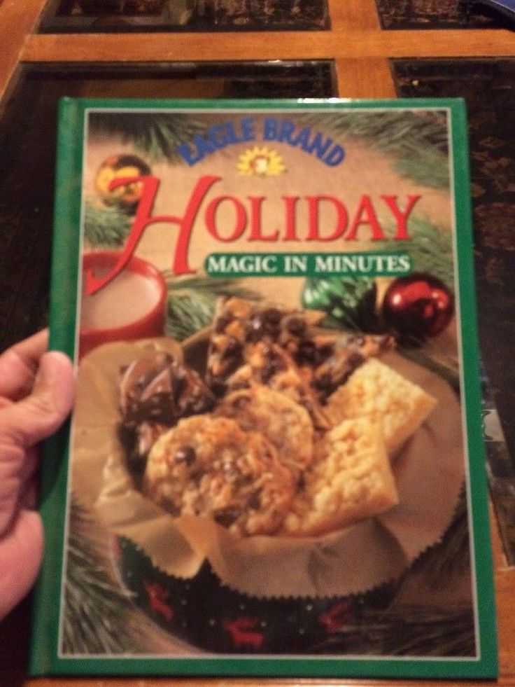Eagle brand holiday magic in minutes cookbook ebay
