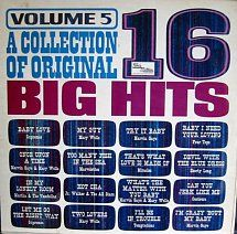 Vinyl Album - Various Artists - A Collection Of 16 Big Hits (Vol. 5) - Tamla Motown - UK