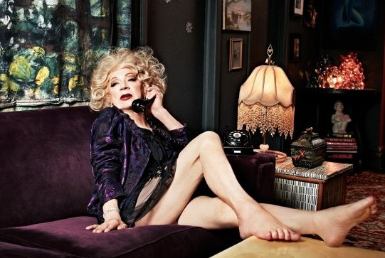 Holly Woodlawn, Inspiration for Lou Reed's