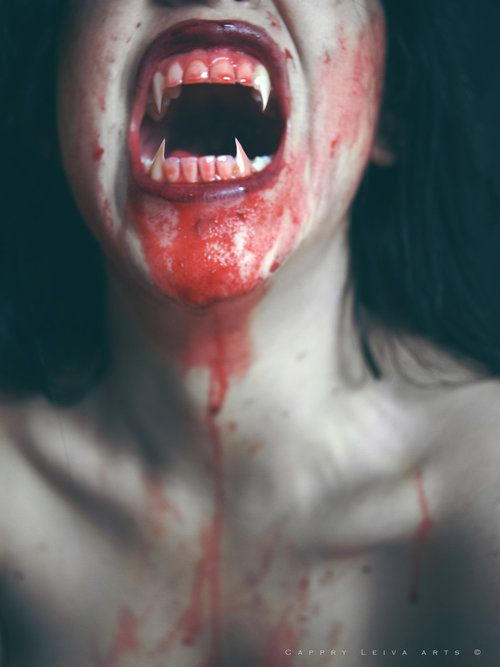 While blood drinking isn't enough to define a vampire, it is an overwhelming feature. In some cultures, drinking the blood of a victim allowed the drinker to absorb their victim's strength, take on an animal's quality, or even make a woman more fecund. The color red is also involved in many vampire rituals.