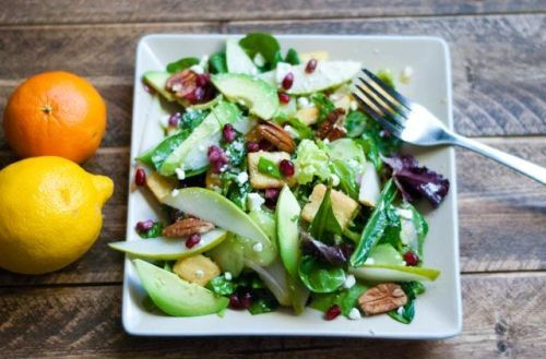 Winter Salad: Here is how you can make scrumptious winter salad recipes using fresh, seasonal ingredients. #winter #recipe #healthy