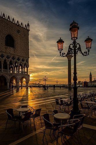 Piazzetta S. Marco in Venice - Veneto, Italy