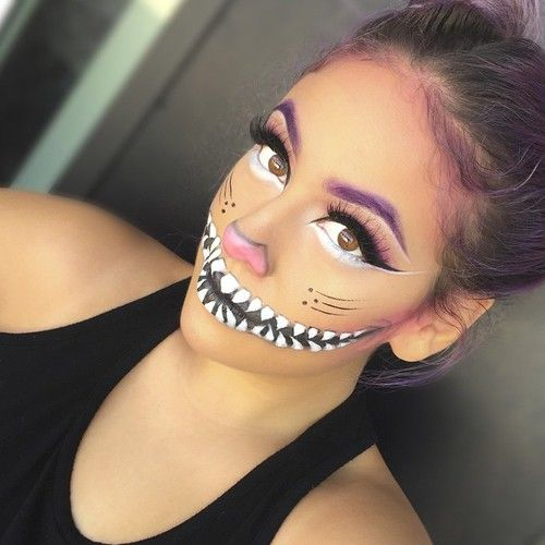Grinsekatzen Make-up Idee  #TeenEventFantasyMake-up www.teenevent.de