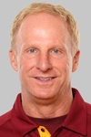 Redskins defensive coordinator Jim Haslett