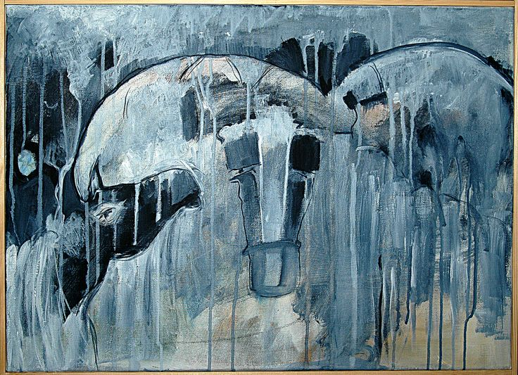 Bjarne Hansen akryl 60x80 cm.