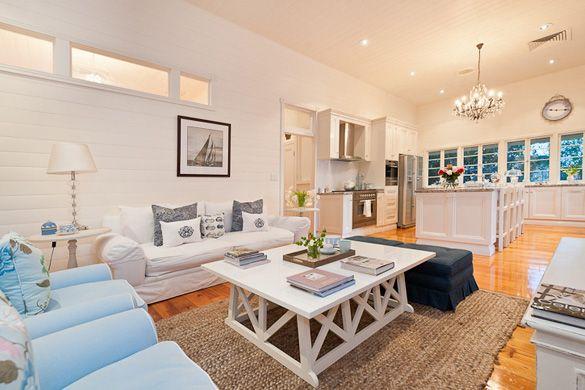Casual sitting area off kitchen | Fran Russel Interior Design Rockhampton Queensland