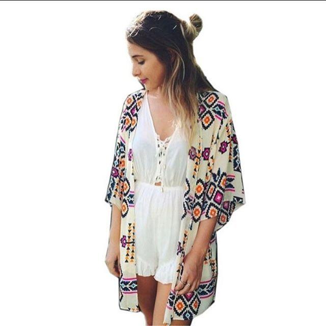 【hummingbird0717】さんのInstagramをピンしています。 《ビーチカバーアップとしても普段の羽織物としても使えるカラフルなシフォンカーディガン🌴🌴🌴🌴 ' ' ' ¥2000送料込 ' ' '  プロフィールからSHOP飛べます💕 DMでも大歓迎です😊 ' ' '  #プチプラ#プチプラファッション#ボヘミアン#夏休み#海#ファッション#コーディネート#リゾート#リゾートファッション#ハネムーン#ハワイ#グアム#モルディブ#タヒチ#カンクン#ビーチ#プーケット#水着#夏コーデ#卒業旅行#修学旅行#ママガール#ママファッション#ママコーデ#海デート#ハネムーン#江ノ島#湘南#由比ガ浜#逗子海岸#森戸海岸》