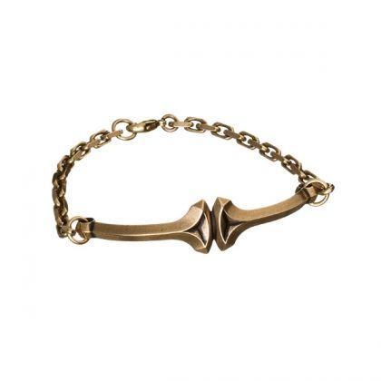Kalevala Koru / Kalevala Jewelry / Thor's hammer bracelet / Designer: Tony Granholm / Material: bronze or silver