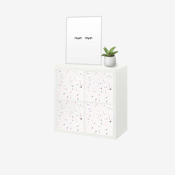 Epingle Par Kusthome Sur Stickers Ikea Kallax Kallax Meuble Kallax Mobilier De Salon
