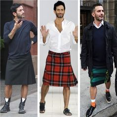 Why don't more men wear skirts?