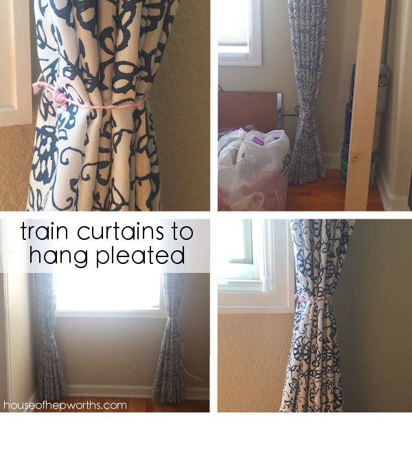 How to create cheap sophisticated window treatments. www.houseofhepworths.com