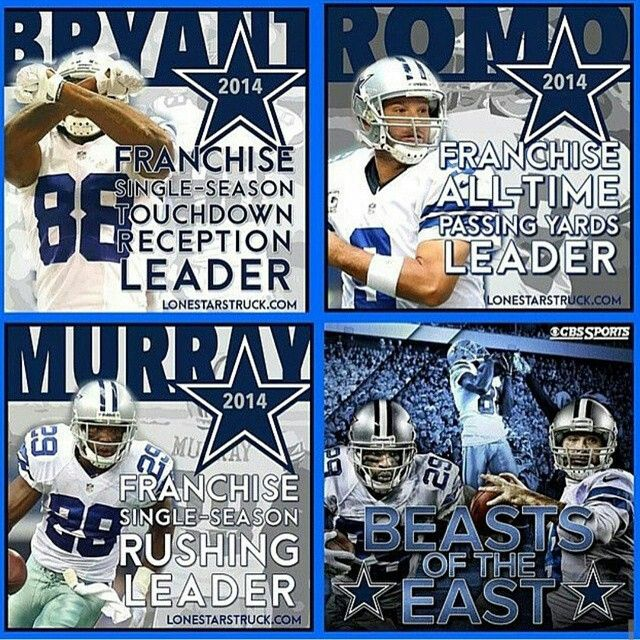 Dallas Cowboys franchise records set in 2014: By @cowboys_nation85 #Cowboys…
